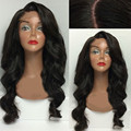 Brazilian Hair Lace Front Wigs Glueless Synthetic Wigs No Tangle Body Wave Heat Resistant Fiber Wigs Wholesale For Women Cosplay