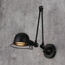 Lámpara de pared clásica de estilo nórdico, lámpara de pared jielde ajustable, luces LED de pared de aplique Vintage para sala de estar dormitorio Baño