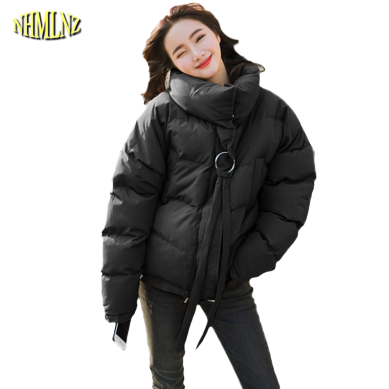 2017 New Winter Short section Long sleeve Loose Winter Women Cotton coat Solid color Casual Warm Comfortable Women Coat WK160 new mens colors short sleeve cotton tshirt henry kissinger quote absence