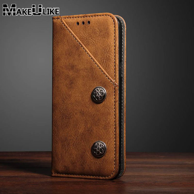 los angeles a23e9 d7c3f US $7.99 |MAKEULIKE Wallet Leather Case For Samsung Galaxy S9 Plus Vintage  Protective Cover Magnetic Coque For Samsung S9 Flip Case -in Flip Cases ...