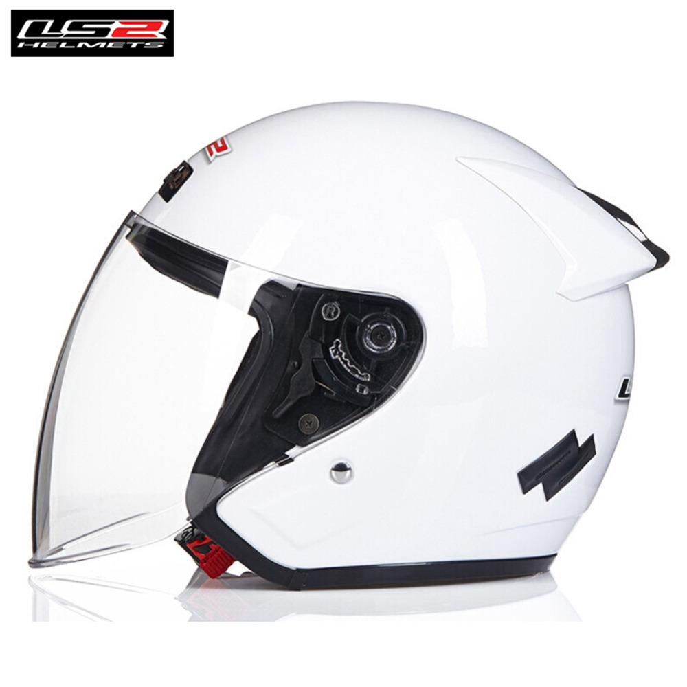 LS2 Scooter Motorcycle Helmet Open Face Capacete Casque Casco Moto Half Jet Helmets Kask For Helm Crash Caschi Motor