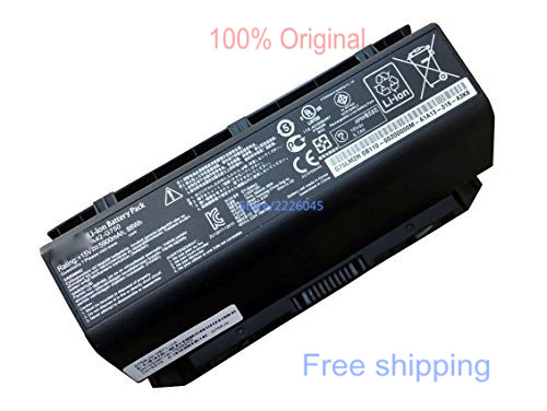 IECWANX 100% new Laptop Battery A42-G750 (15V 88wh 5900mAh) for Asus G750 G750J G750JH G750JS G750JW G750JX G750JZ Series