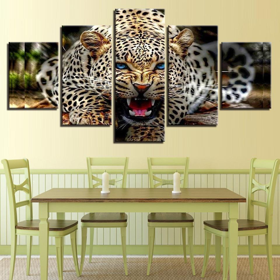 Exelent Leopard Wall Art Decal Home Decor Photo - The Wall Art ...