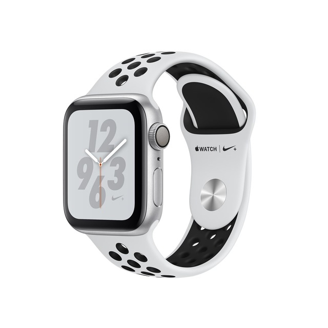 Apple Watch Nike + Series 4, OLED, Touchscreen, GPS (satellite), 18 h, 30.1 g, SilverApple Watch Nike + Series 4, OLED, Touchscreen, GPS (satellite), 18 h, 30.1 g, Silver
