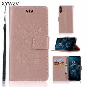 Image 1 - Huawei Honor 20 Case Shockproof Flip Wallet Zachte Siliconen Telefoon Case Kaarthouder Fundas Voor Huawei Honor 20 Cover Voor honor 20
