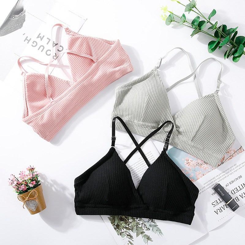 Women Bra Thin Seamless Wire Free Bralette Backless Seamless Bras For Women Sexy Underwear