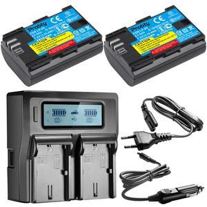 Image 4 - LP E6 E6N LP E6 LPE6 Battery 2650mah For Canon 5D Mark II III IV, 80D, 70D, 60D, 6D, EOS 5Ds, 5D2, 5D3, 5DSR, 5D4 camera
