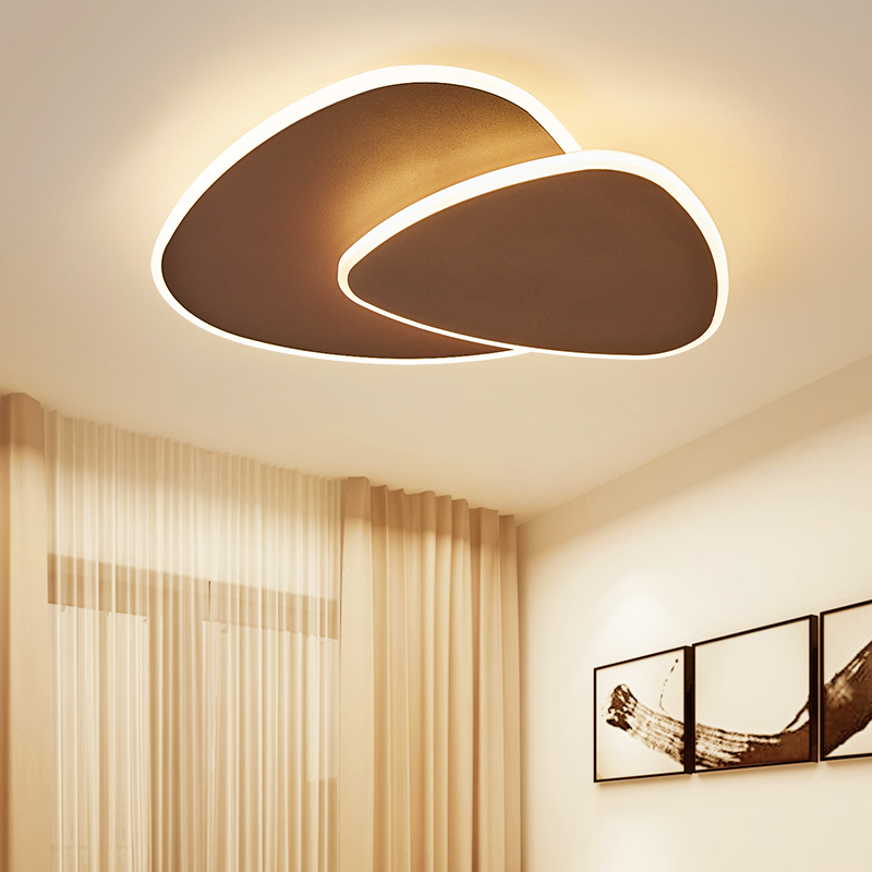 Dimmable Can adjust the angle Modern Led Chandelier For Living Bedroom Study Room White/Brown Color modern chandelier FixtureDimmable Can adjust the angle Modern Led Chandelier For Living Bedroom Study Room White/Brown Color modern chandelier Fixture