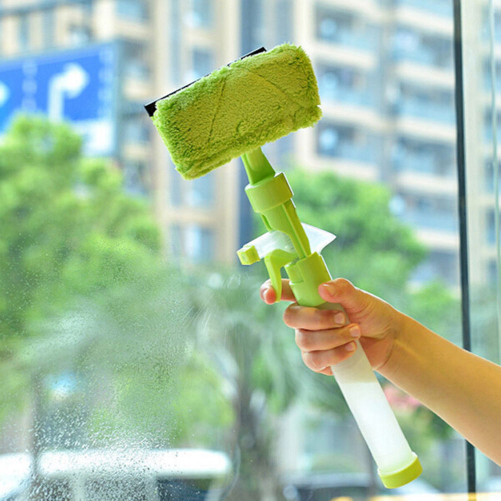 Magic High Quality Spray Type Brushes Cleaning Airbrush Glass Wiper Magnetic Window Brush Cleaner Car Window Wizard Washing Tool