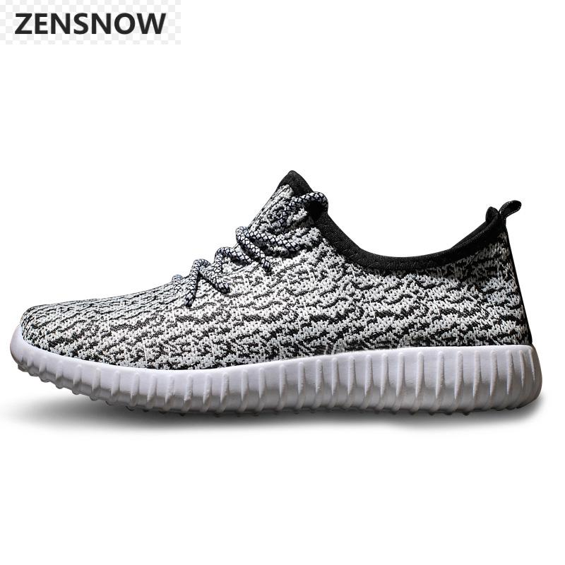 2017 New Mens Casual Shoes Korean Summer Men Mesh Weaving Fly Shoes