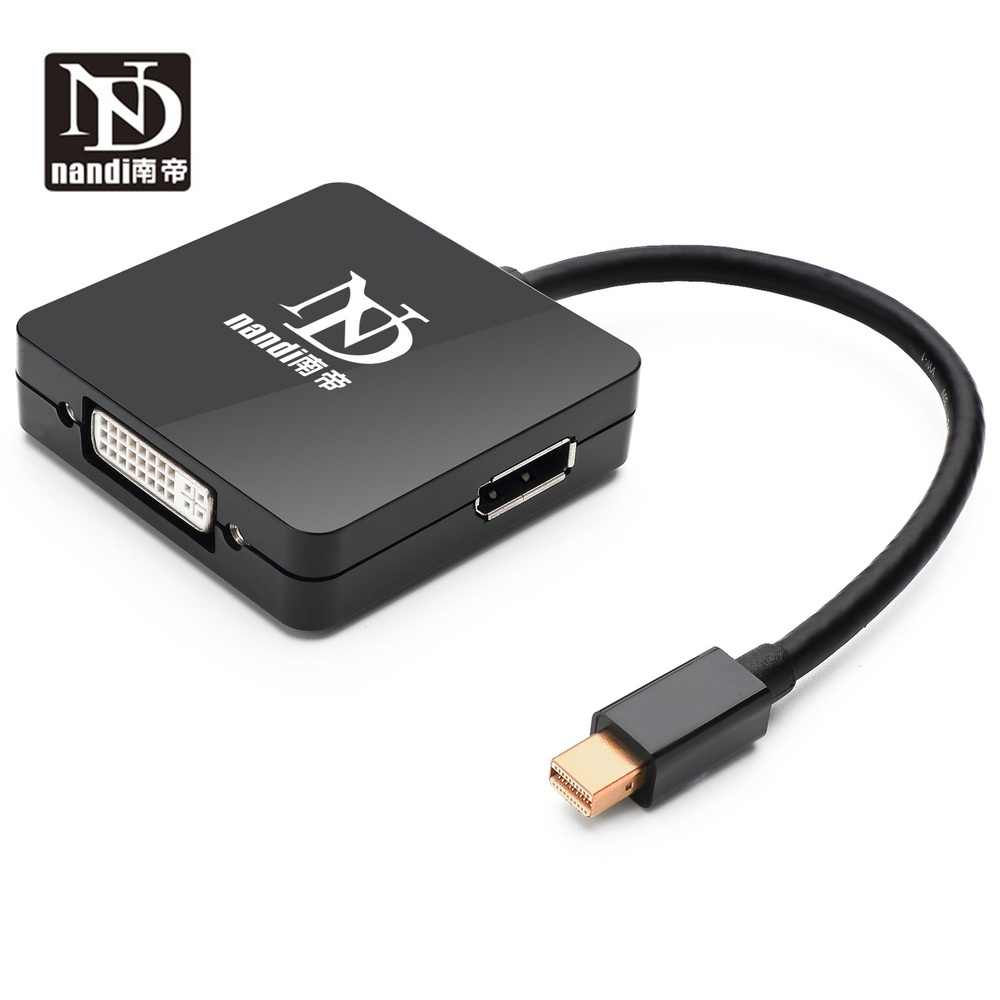 Thunderbolt 2 концентратор многопортовый док-станция Mini dp к hdmi dvi dp адаптер конвертер Mini Displayport к DVI HDMI DP для MAC book pro AIR