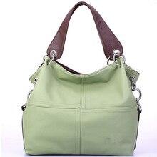 2016 Women Versatile  PU Leather Handbag Soft OfferBags Zipper Messenger Bag/ Splice Grafting Vintage Crossbody Bags
