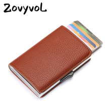 ZOVYVOL 2019  RFID Blocking ID Card Holder New Soft Leather WalletMultifunctional High Quality Money Bag 3 Colors Case