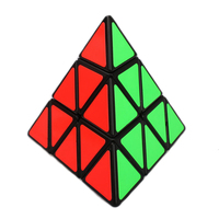 Brand New Shengshou Triangle Pyramid Plastic 98mm 3x3x3 Pyraminx Magic Cube Puzzle Educational Toys For