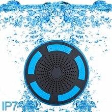 5 Вт IPX7 Водонепроницаемый сабвуфер Душ bluetooth динамик с присоской Портативный стерео беспроводной динамик Bluetooth с присоской