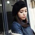 Chapéus de inverno para mulheres de Malha de lã Chapéus Padrão Boina Quente tampas Bonitos do Sexo Feminino Sentiu Novo Design Hot Venda Quente E bonito