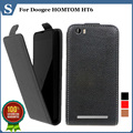 Factory price , Top quality new style flip PU leather case open up and down for Doogee HOMTOM HT6 , gift