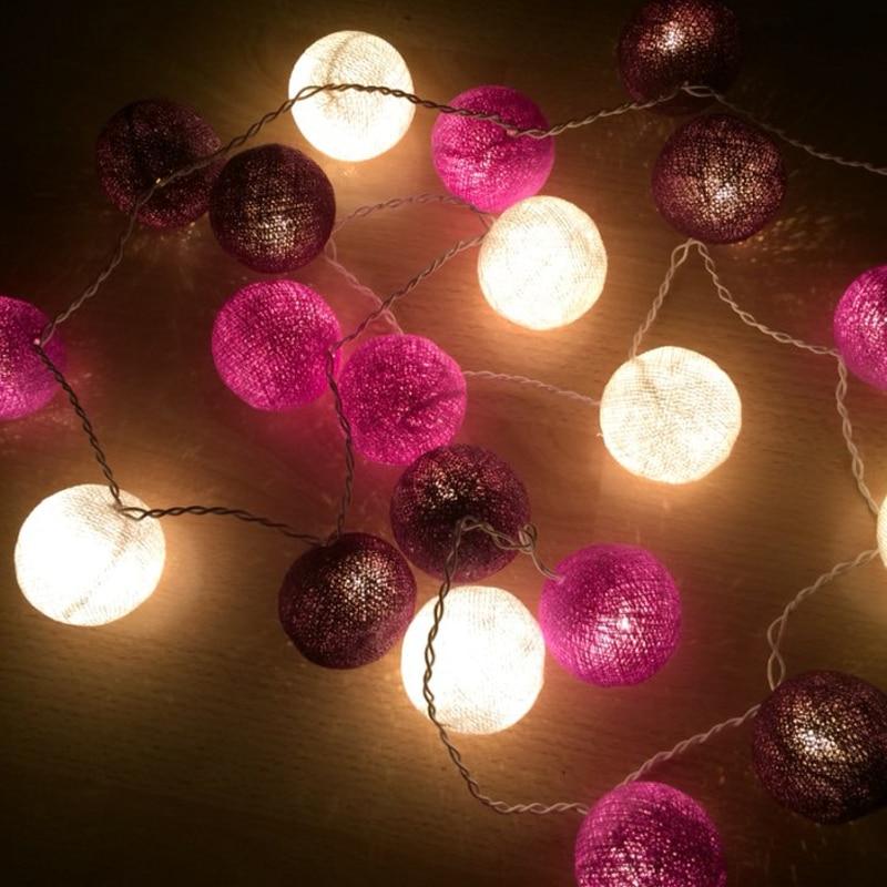 Christmas Fairy String Lights, үйді безендіру Fiestas - Мерекелік жарықтандыру - фото 5