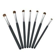 Natural Hair Eye Makeup Brushes Set Professional Eyeshadow Shadow Brushes Makeup Tool Shader Blending Make Up