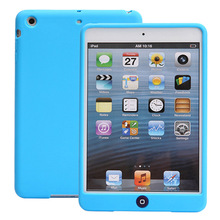 Silicon Cover Case for iPad Mini 1 2 3 Jelly Bean Cute Solid Rubber Funda Shockproof Cases for Apple iPad Mini 3 Coque Capa цены