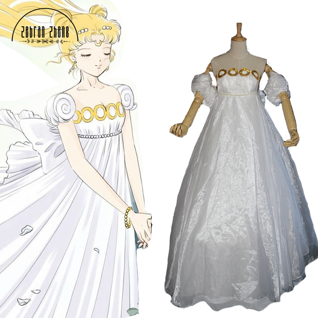 New Arrival Sailor Moon Cosplay Costume Dress Tsukino Usagi Costume For Women Halloween Party Custom Made  sc 1 st  AliExpress.com & New Arrival Sailor Moon Cosplay Costume Dress Tsukino Usagi Costume ...