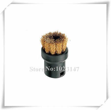 cepillo para K/ärcher SC1 SC2 CTK10 SC3 SC4 SC5 SC7 boquilla redonda DingGreat 8Pcs Cepillo de limpieza a vapor