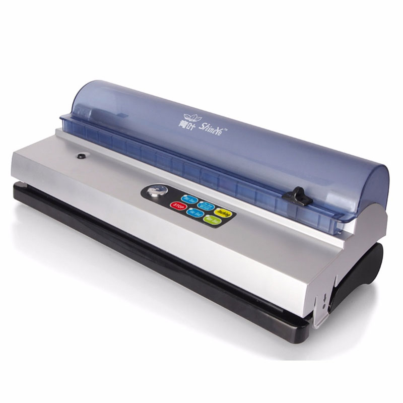 Ménage/commercial Plein-automatique machine sous vide vacuumizer alimentaire emballage sous vide machine sous vide scellant grind