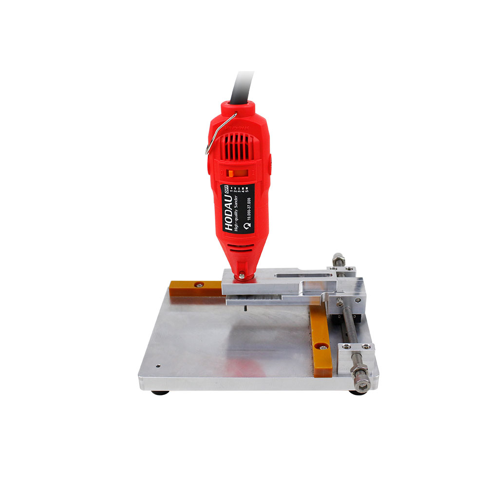 Mobile Phone Mini Grinding Machine With PCB Holder for iPhone 8 8Plus XS max Rear Camera