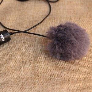 Image 5 - Universal Outdoor Microphone Fur Wind Cover Furry Windscreen Windshield Muff For BOYA BY M1 WM5 WM6 LM10 LM20 GM10 M40D M80D WM8