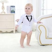1pcs Newborn Baby Bodysuits Cute Boys Cotton Clothes Jumpsuit Outfits Set