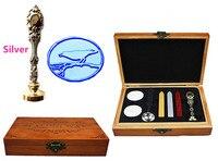 Vintage Bird On Branch Custom Luxury Wax Seal Sealing Stamp Brass Peacock Metal Handle Sticks Melting