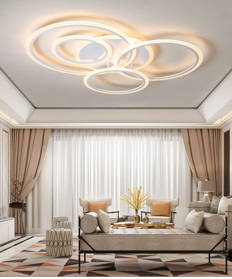acrílico lustre lâmpada do teto luminárias led