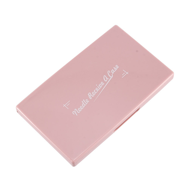 Portable Needle Storage Case Plastic Sewing Pins Organizer Magnetic Container BDF99