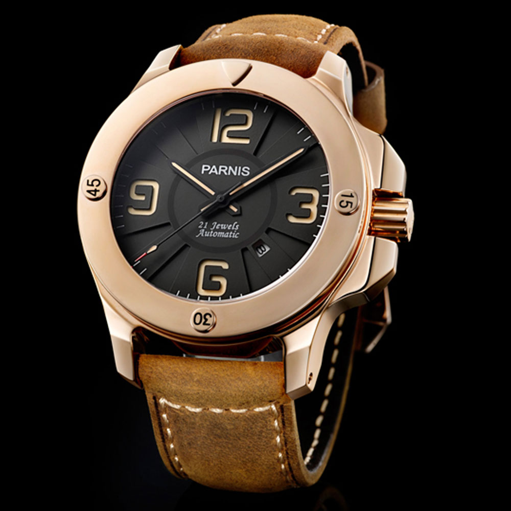47mm black dial luminous marks date sapphire glass Top Brand Luxury miyota Automatic movement Mens Mechanical Wristwatches47mm black dial luminous marks date sapphire glass Top Brand Luxury miyota Automatic movement Mens Mechanical Wristwatches