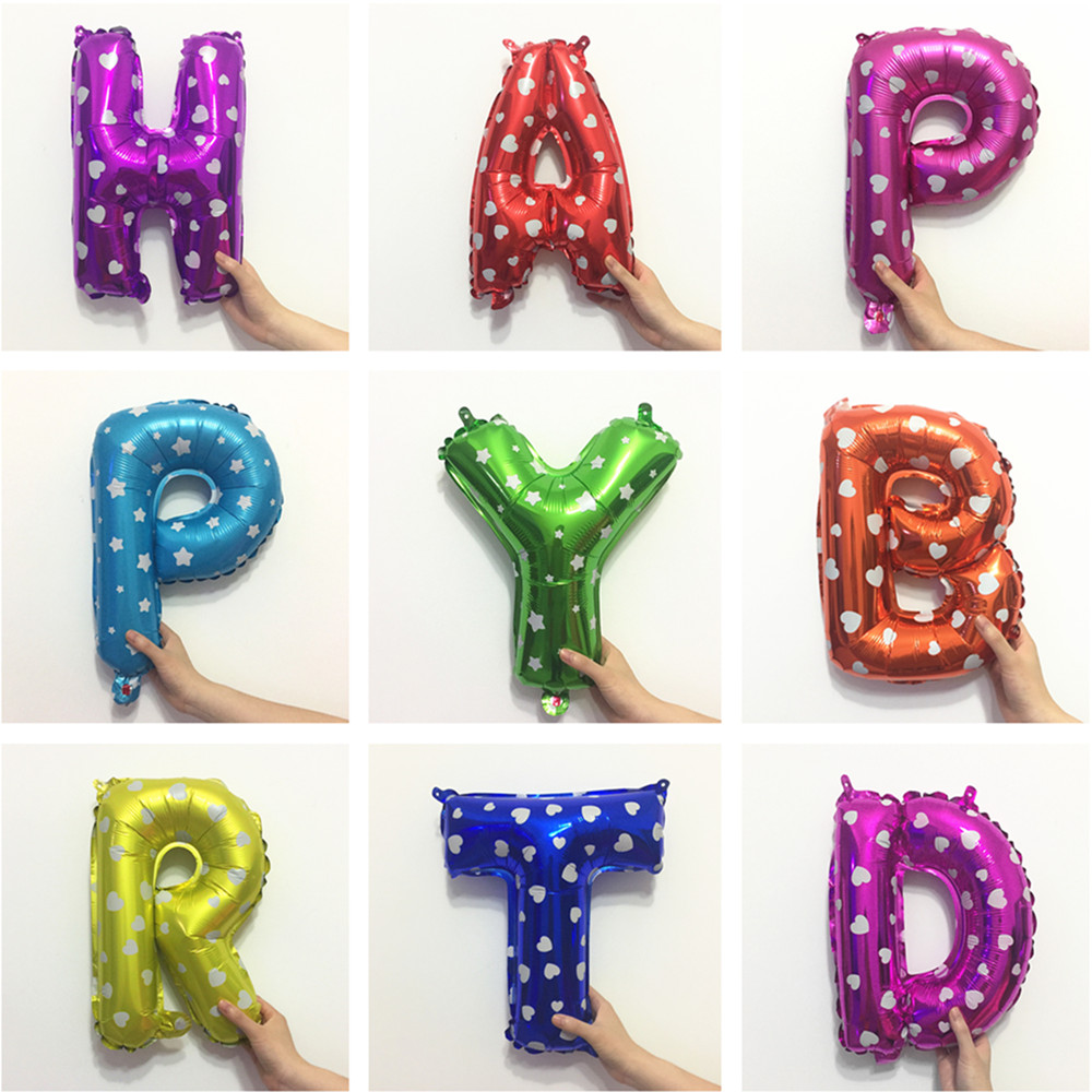 Happy Birthday Balloon BabyShower Nytår Julebrev Balloner - Varer til ferie og fester - Foto 5