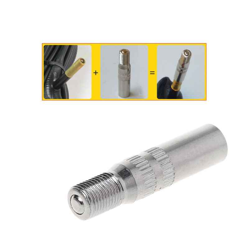 Bicycle Valve Extender For Schrader Valve Replacement Cycling Bike Parts