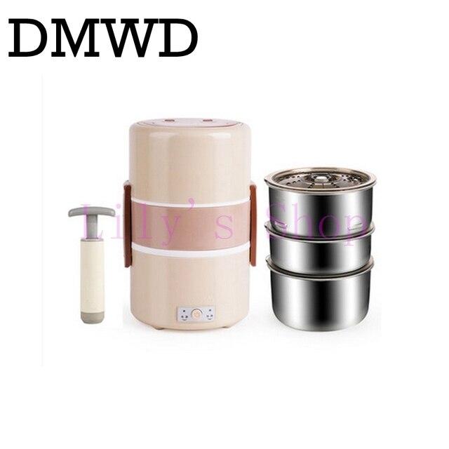 DMWD Elektrische lunch boxen drei schicht vakuum isolierung heizung ...