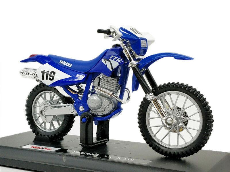 Maisto 1:18 Yamaha TT R250 MOTORCYCLE BIKE DIECAST MODEL TOY NEW IN BOX