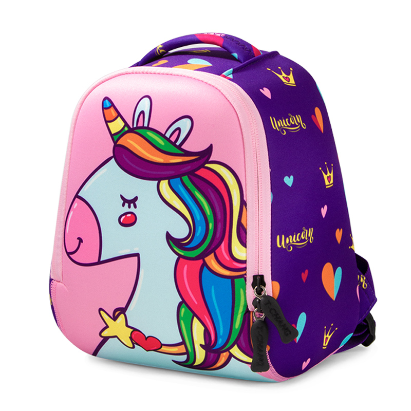 Cute Unicorn Kids School Bags For Girls Creative Animals Design Waterproof 3 Size Child Schoolbag Boy School Backpacks Mochilas