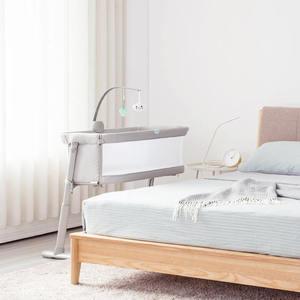 Image 3 - Youpin Baby Pflege Bett Möbel Mit Bedbell Tragbare Infant Reise Sleeper Bett Schlaf Atmungs Falten Krippe Kleinkind Cradle