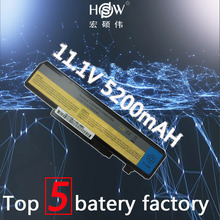 5200MAH new  6cells Laptop Battery For Lenovo IdeaPad Y450 Y450A Y450G Y550 Y550A Y550P 55Y2054 L08L6D13 L08O6D13 bateria akku