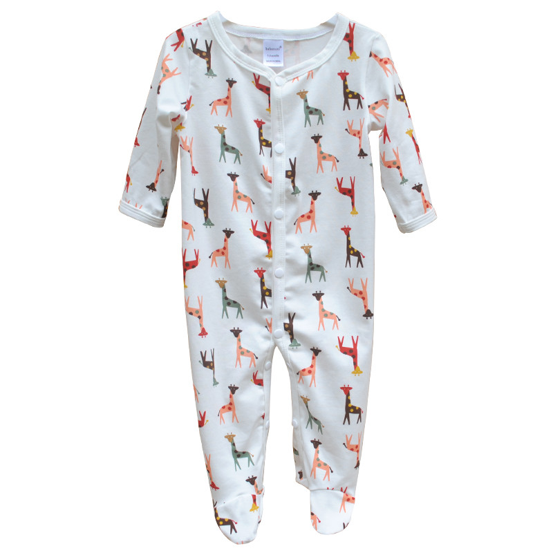 Brand Newborn Baby Clothes Cute Cartoon Baby Costume Girl Boy Jumpsuit Clothing Spring Autumn Cotton Romper Body Baby Clothes 3