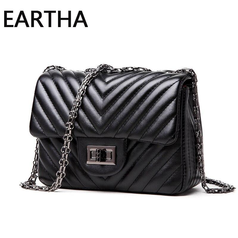Womens Leather Bag Small Messenger Bags Chain Brand Designer Mini Purse Handbag Sac s Main Ladies Shoulder Crossbody Bag