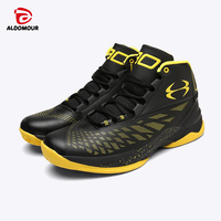 ALDOMOUR Men 4th Lite Outdoor Basketball Shoes Hard-Wearing Cushioning Sneakers Sport Shoes ALDOMOUR Basket Homme 2017