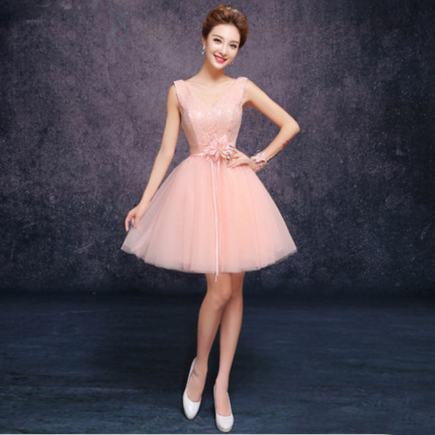 0ae003d398c7 sexy modest grecian ladies girls nice formal special occasion peach color evening  dress short dresses 2017 ball gowns D1801