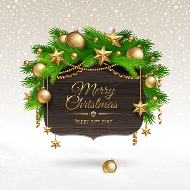 merry christmas photography backdrops gold ball pine branch happy new year background for studio fotografie 150m