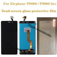 """5.5 """"عالية الجودة ل Elephone P9000 LCD + مجموعة المحولات الرقمية لشاشة تعمل بلمس ل Elephone P9000 لايت عرض إصلاح أجزاء"""