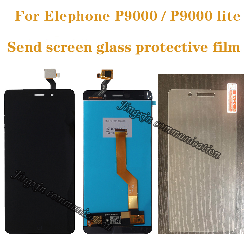 "5.5"" high quality for Elephone P9000 LCD + touch screen digitizer assembly for Elephone P9000 Lite display repair parts-in Mobile Phone LCD Screens from Cellphones & Telecommunications"