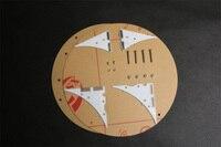 Dance Light Led Electronic Diy Kit Acrylic Case