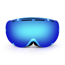 2016 New Brand Skiing Goggles Winter Outdoor Snowboarding Anti-fog Snow Glasses Double Spherical Wind Mirror Ski Sports Goggles